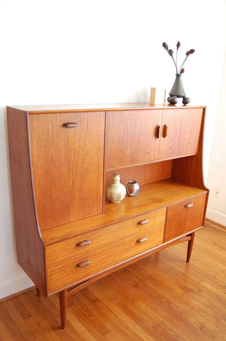 Danish modern furniture - Danish Modern Mcm Sideboard