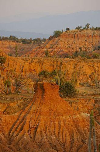 Desierto de la Tatacoa, Huila (Región Andina , Colombia.