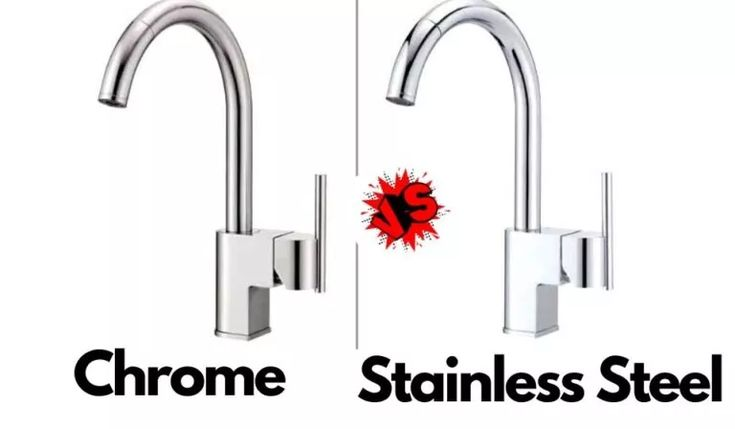 Chrome Vs Stainless Steel Faucet Which Is Better Kitchen Faucet Blog In 2021 Stainless Steel Faucets Kitchen Faucet Chrome Kitchen Faucet