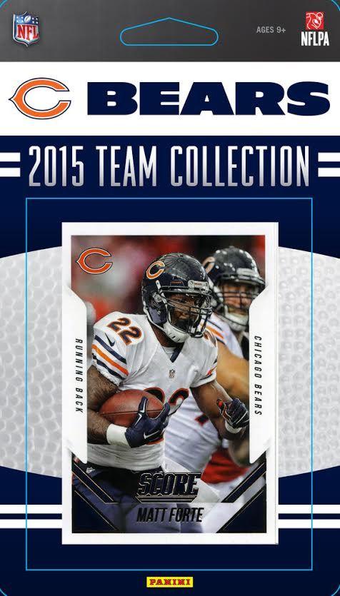 Chicago Bears 2015 Score Team Set