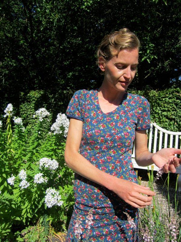 Kostenlose Nähanleitung und Schnittmuster für ein Shirt mit Puff-Ärmel