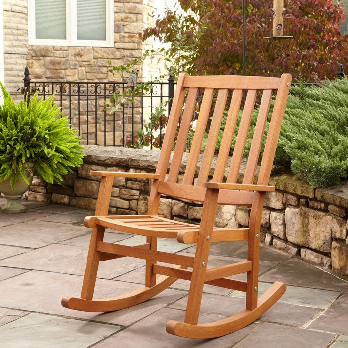 How To Build A Rocking Chair By Yourself - Free DIY Furniture Plans