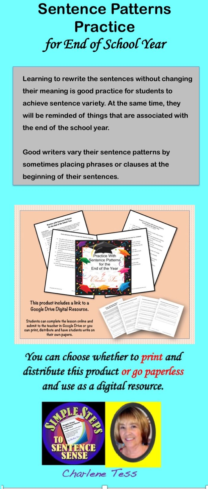 Sentence Combining using phrases and clauses. #google #googleapps #googledrive #paperless