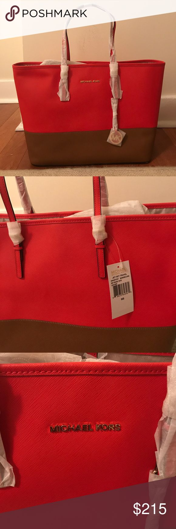 Michael Kors - jet set md travel tote. New! Never used! Michael Kors jet set travel tote! Michael Kors Bags Totes