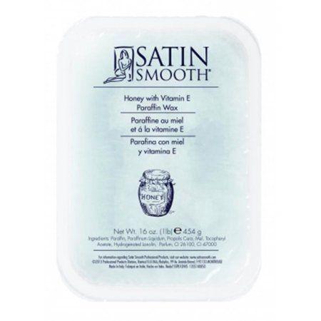 Satin Smooth Honey Paraffin Wax with Vitamin E, 16 oz, Multicolor