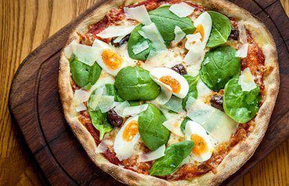 Pizza Fiorentina Recipe - Great British Chefs