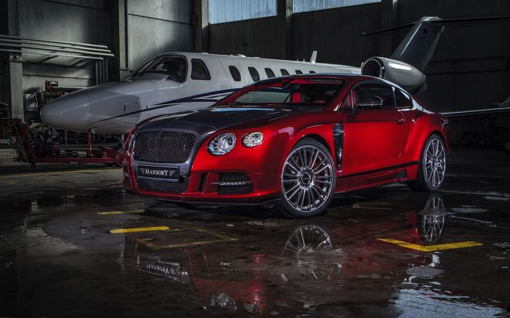 2013 Car Mansory Bentley Continental GT Sanguis
