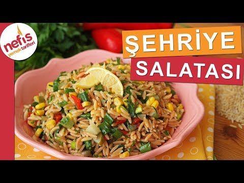 Beğeni Rekorları Kıracak ŞEHRİYE SALATASI - Yedikçe yedirten salatalardan :) - YouTube
