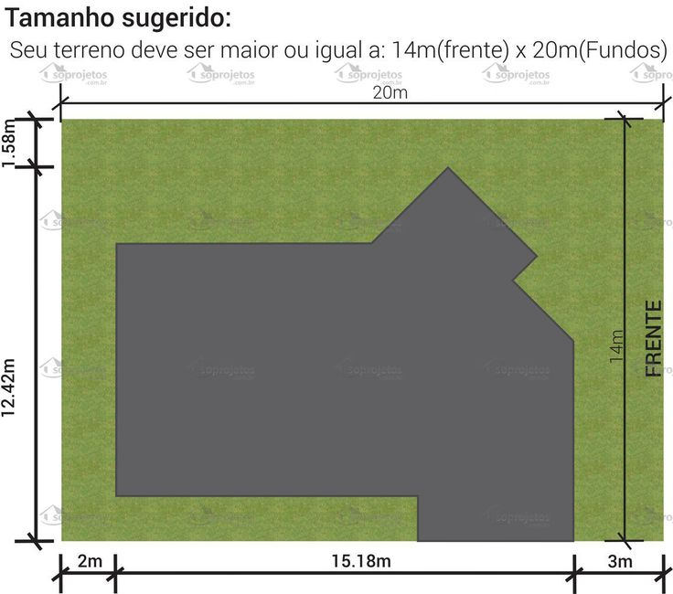 Modelo de Sobrado com 4 quartos - Cód. 128 | Só Projetos