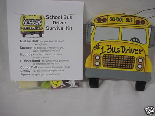 Bus Driver survival kit | school buses | Pinterest ...