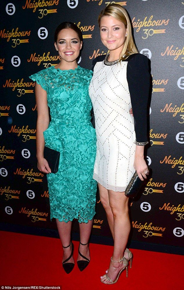 Going back? Earlier this year, Neighbours star Olympia Valance (L) revealed her older half-sister Holly Candy (R) could possibly reprise her old role on the long-running soap and now the executive producer has weighed in