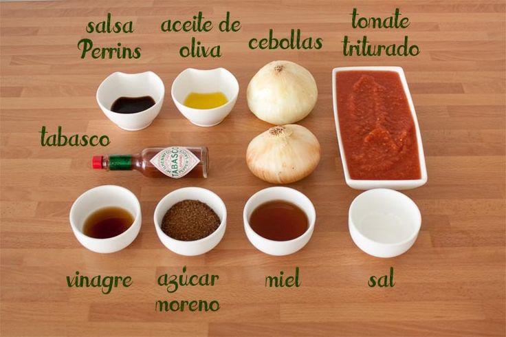 Ingredientes para hacer salsa barbacoa casera