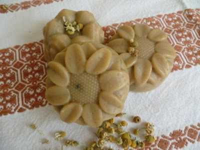 Kamillás szappan - Camomile soap