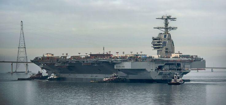 The USS Gerald R. Ford (CVN 78) is the most technologically advanced warship…