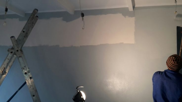 Painting the walls
