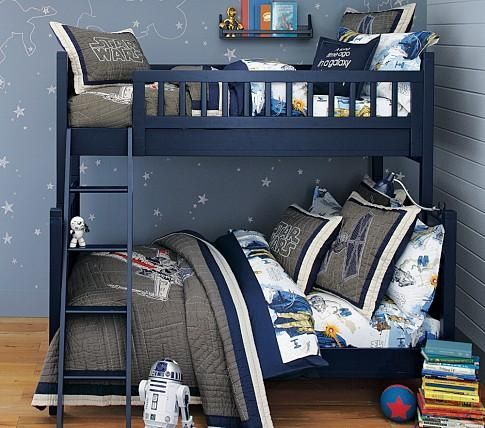 Beds Headboards Camp Twin Over Full Bunk Bed Pottery Barn Kids