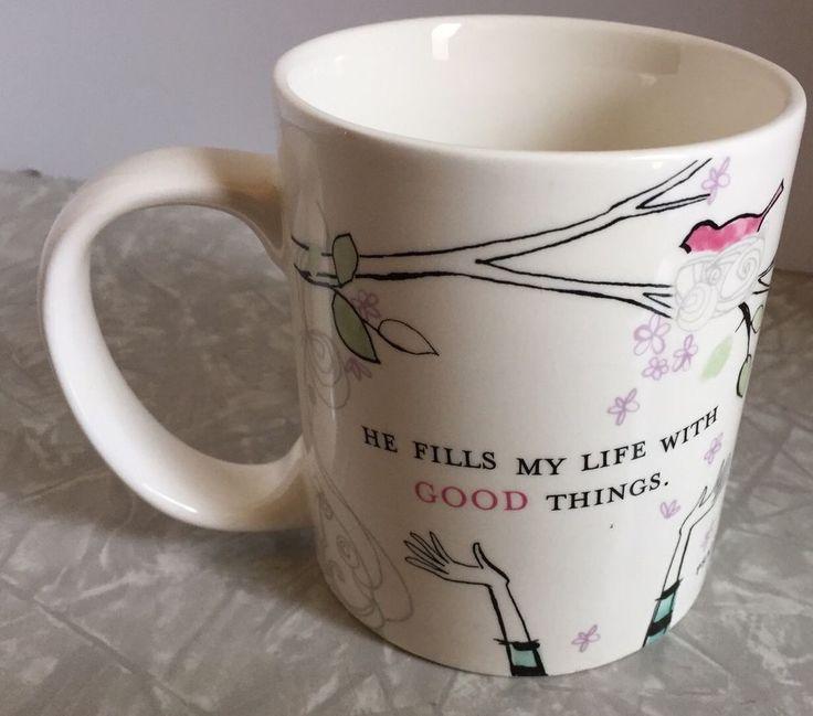 Psalm 103:5 Ceramic Coffee Mug White Dayspring #Dayspring