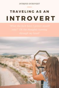 Here's some tips for the traveling introverts! It can be hard to find your groove on the road, but all it takes are a couple of things...