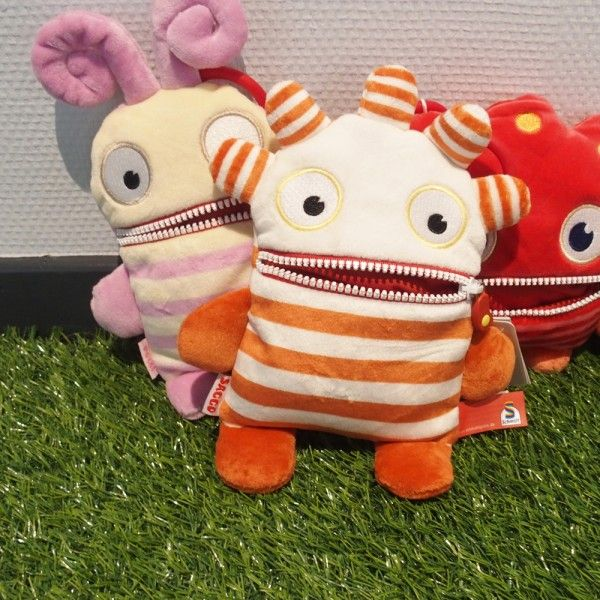 Petit monstre sympathique  Doux au touché  Doux pour le moral   #peluche #plush #monster #avalesoucis #children #enfant #enfants #baby #bebe #cute