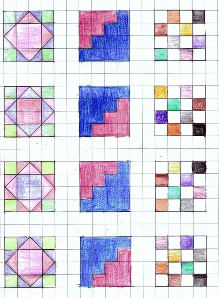 1084 best graph paper art images on Pinterest Blackwork, Graph - download graph paper for word