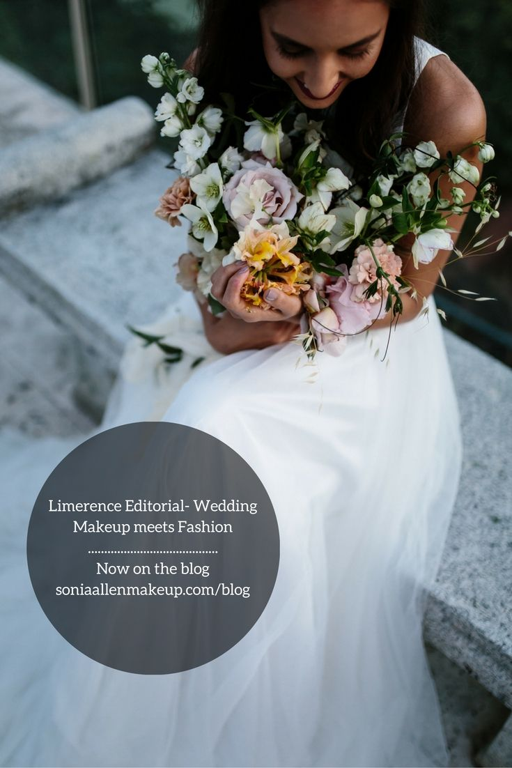 LIMERENCE EDITORIAL- WEDDING MAKEUP MEETS FASHION (Wedding Collection, Nov 2016)  Go behind the scenes on the Limerence styled bridal shoot where @soniaallenmua shows how contemporary wedding makeup can take influence from fashion trends.