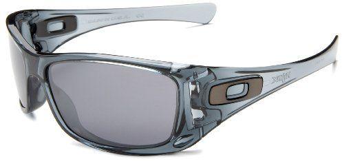 Oakley Men's Hijinx Iridium Sunglasses,Crystal Black Frame/Black Lens,one size Oakley. $100.00. Lens width: 65 millimeters. Case included. 100% UV protection coating. Arm: 130 millimeters. Bridge: 15 millimeters. Lens height: 40 millimeters. synthetic. O-Matter frame. Plutonite polycarbonate lens