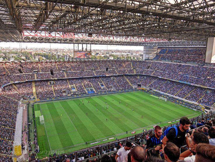 San Siro Stadium (MIlan) Inter-Juventus by FZA_1970