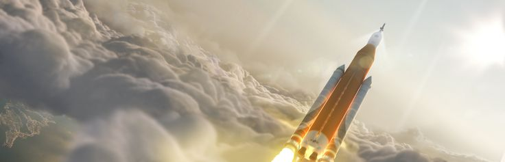 Artist Concept: Space Launch System Takes Flight Artist concept of NASAs Space Launch System (SLS) 70-metric-ton configuration launching to space. October 22 2015