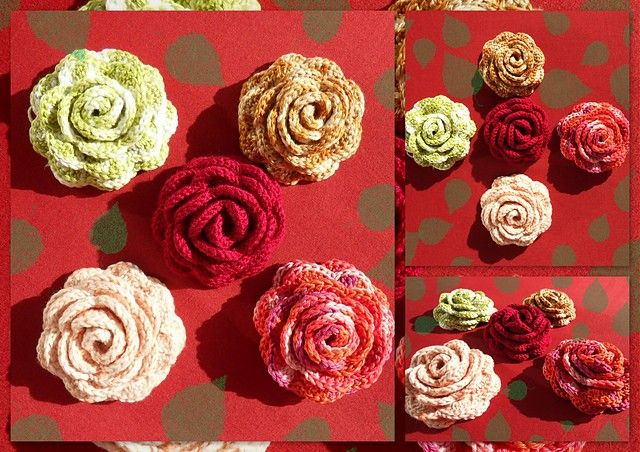 This flower pattern is adorable. It is quite large so I can see all kind of possibilities with it. So if you don't do brooches you can put the rose flower on hats or make a gorgeous bracelet. It is also beautiful for house decoration items or wedding bouquets. This Rose Brooch by Daniela Herbertz …