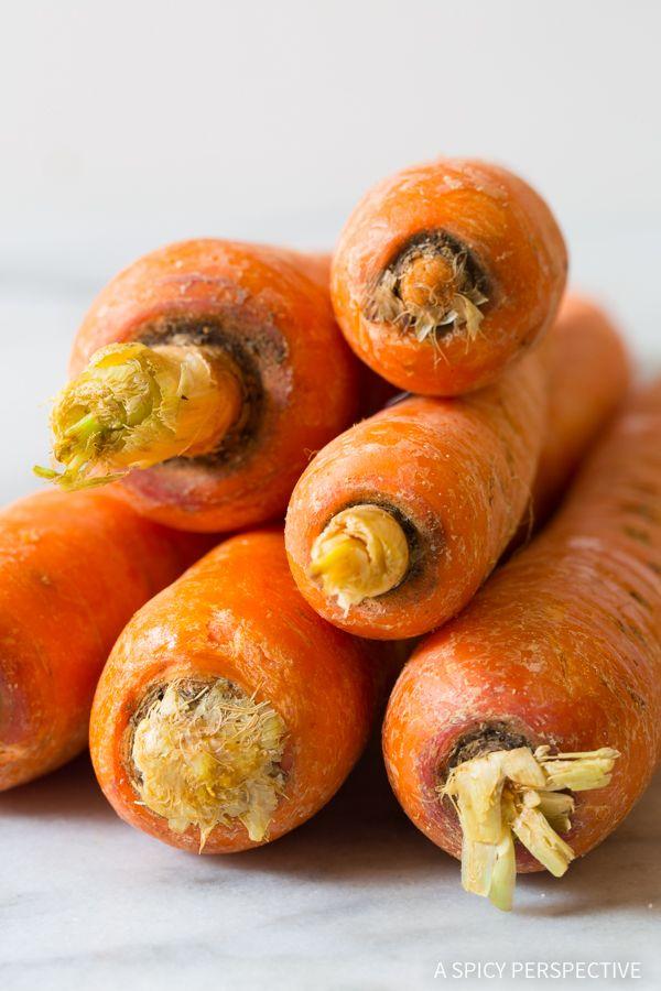 Making 5-Ingredient Healthy Baked Carrot Chips Recipe #glutenfree #paleo #vegan