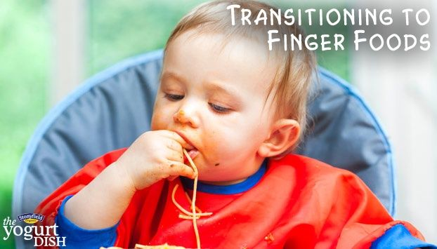 Learn what kind of finger foods are both tasty and healthy as your baby is first introduced to solid food.
