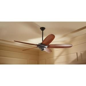 Extra large fan for the great room.  Home Decorators Collection Altura 68 in. Oil Rubbed Bronze Ceiling Fan 26668 at The Home Depot - Mobile