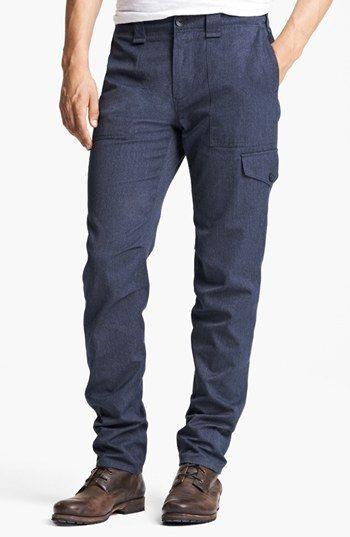 $325, Navy Cargo Pants: rag