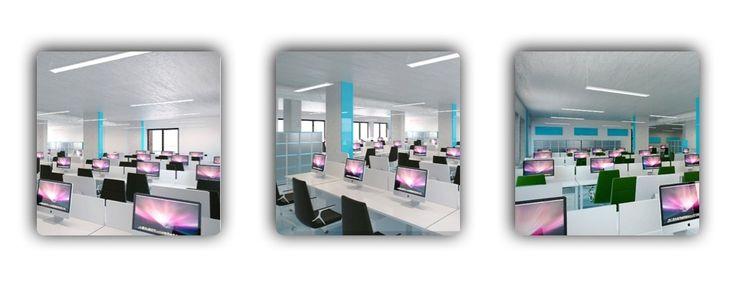 Дизайн интерьера офисов. Интересный проект в эко-стиле