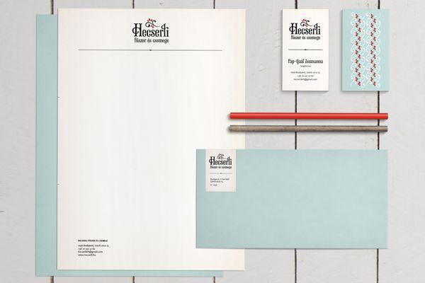 Hecserli food packaging and branding