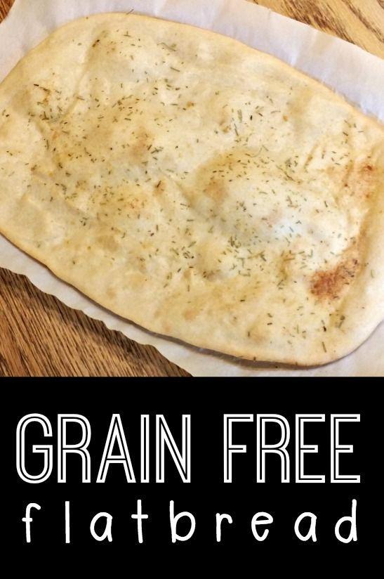 Grain Free Flatbread - http://healthpositiveinfo.com/grain-free-flatbread.html