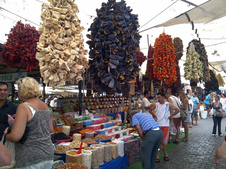 Turgutreis saterday Market