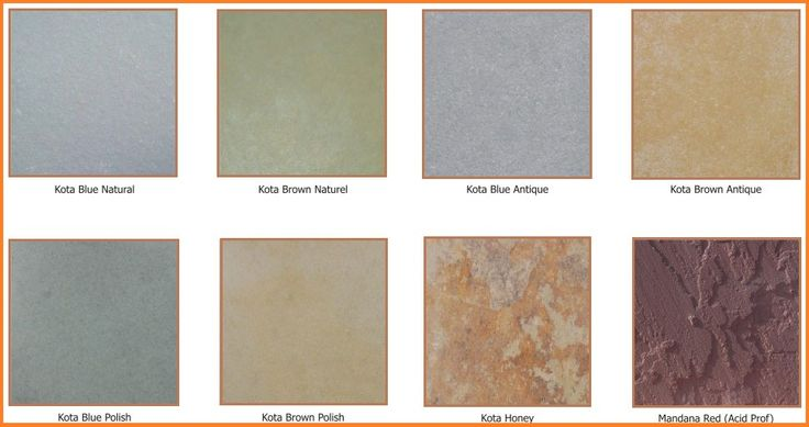 Kota stones are popular for its natural and attractive colors such as brown, yellow, black, greenish-blue, Honey and beige......
