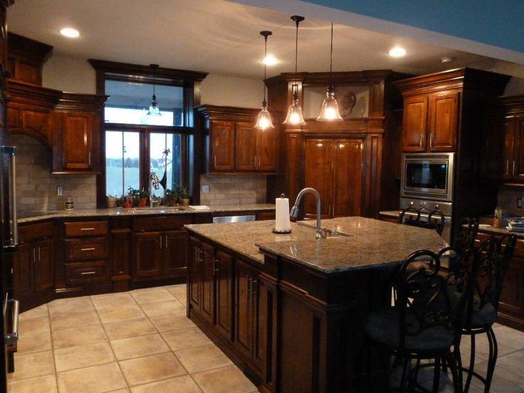 Cherry Cabinets Custom Built Cherry Cabinets With
