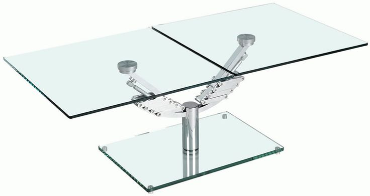Glass Adjustable Height Coffee Table Adjustable Height Coffee Table