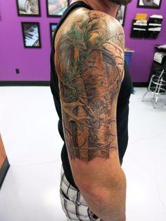 Camo sleeve tattoo ideas pinterest camo tattoo for Camo sleeve tattoos