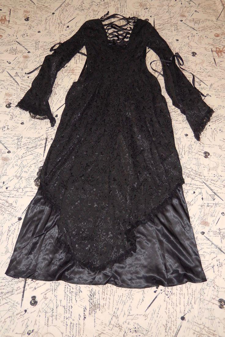 LIP SERVICE (Hot Topic) long dress #45-122-HT