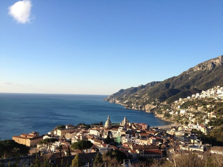 Vietri sul mare, where the Amalfi coast begins...