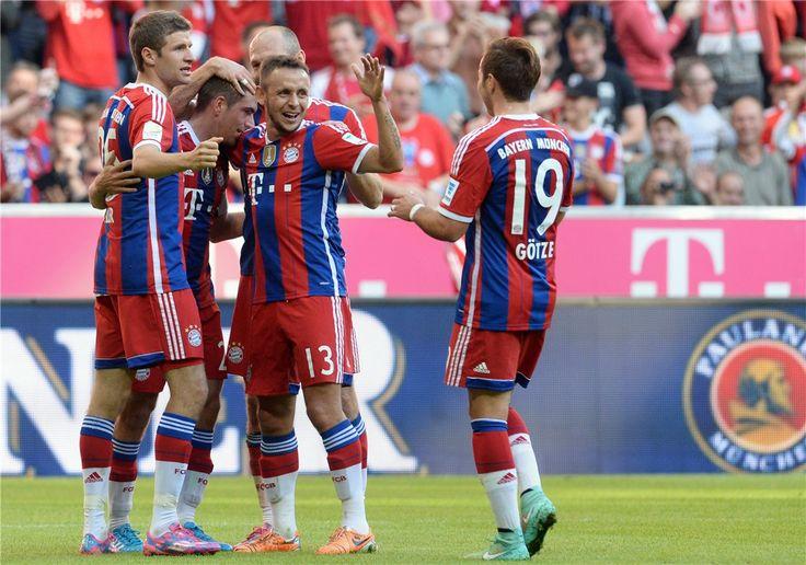 德甲第8輪:拜仁6-0不萊梅