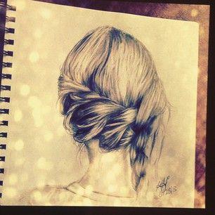 19 Besten Drawing About Hair Style Bilder Auf Pinterest