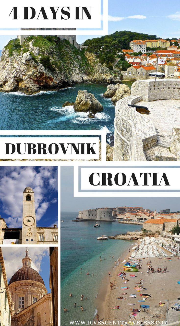 4 Day Dubrovnik Guide – Things to do in Dubrovnik. Dubrovnikis a one-town tourist industry on its own, with endlessthings to doall year round. As stunning as the clear blue sea around it, the former centre of the independent Republic of Ragusa invites superlatives and attracts the lion's share of Croatia's visitors. Read on for our insider's guide to Dubrovnik, Croatia.  #Dubrovnik #Croatia #Guide #Travel