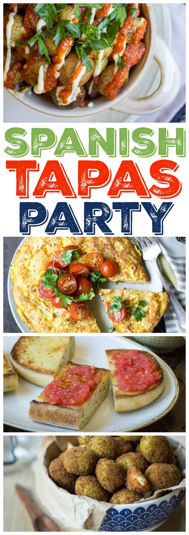 Tapas parties are a fun and easy way to plan a night with family and friends. Make the recipes ahead of time, set the table, and keep the red wine flowing!
