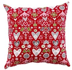 Klippan Julia Red cushions now in the sale at www.northlighthomestore.com