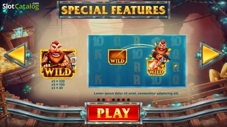 Screen3. Treasure Mine (Video Slot from Red Tiger)