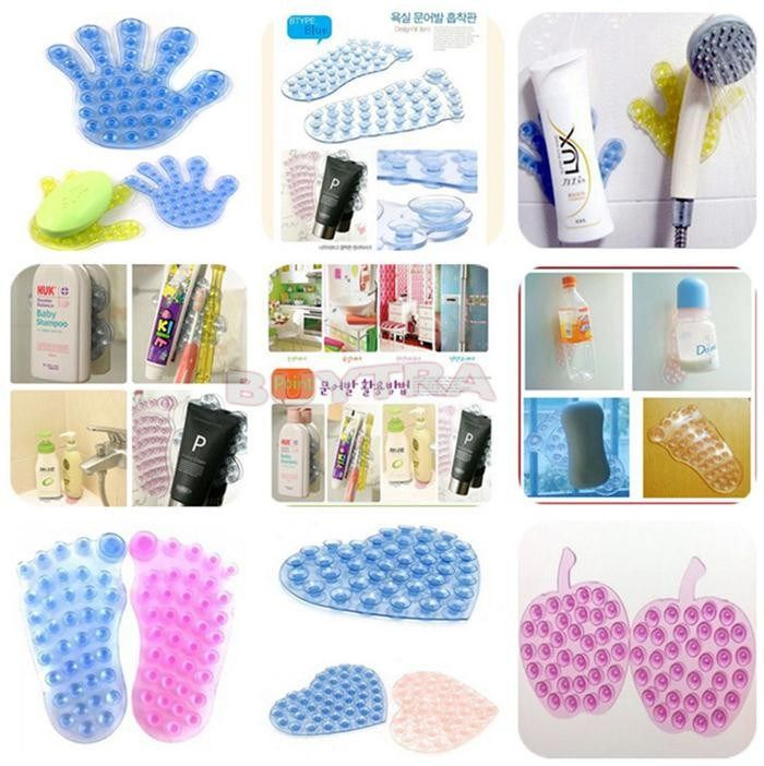 Various Shapes Bathroom Suction Cup Holders   Free Worldwide Shipping!  Only $3.01    Order from: www.happycozyhome.com